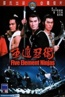 Five Element Ninjas (Ren zhe wu di) จอมโหดไอ้ชาติหินถล่มนินจา (1982)