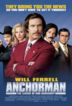 Anchorman 1: The Legend of Ron Burgundy ประกาศรบ…แต่ดั้นนมาพบรัก (2004)