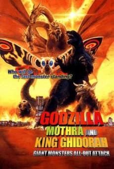 Godzilla, Mothra and King Ghidorah: Giant Monsters All-Out Attack ก็อดซิลลา, มอสรา และคิงส์กิโดรา สงครามจอมอสูร (2001)