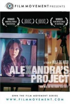 Alexandra s Project แผนฆ่า เทปมรณะ